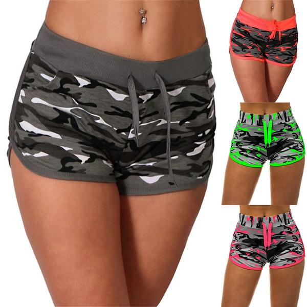 casualladiespant, runningyogashort, printsportsshort, Shorts
