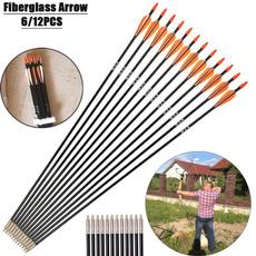 Archery, fiberglassarrow, Hunting, bowandarrow