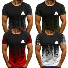 Summer, Fashion, Shirt, men's fashion T-shirt
