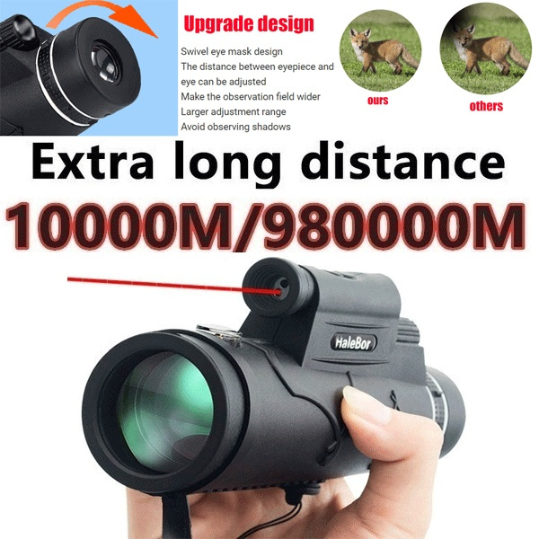 Dual-Tube Handheld Outdoor HD Telescope QIAOXINGXING Telescope high-Power Low-Light Night Vision Telescope