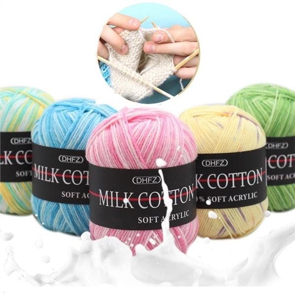 Wool, milkcottonyarn, woolcottonball, diyaccessorie