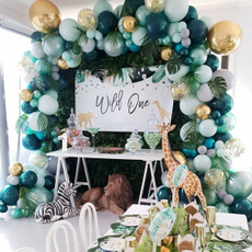 Decor, Garland, balonnenverjaardag, Balloon