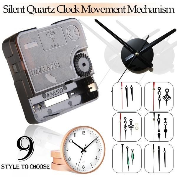 mechanismclock, quartz, Clock, Battery