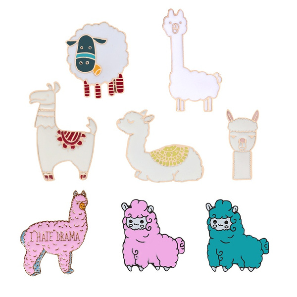 Kawaii, cute, alpaca, Jewelry