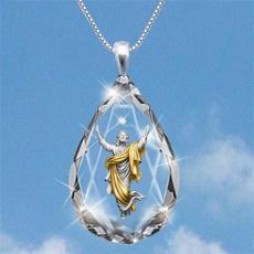 Chic, Women, crystal pendant, Fashion