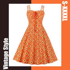 cute, sundress, plus size dress, Dress