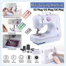 Mini, repairclothe, Knitting, machineàcoudre