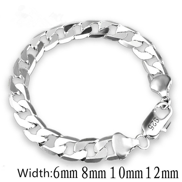 Sterling, 8MM, Fashion, 925 sterling silver