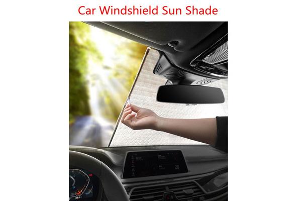 50cm Car Rear Window Sunshade Curtain Roller Blinds Automatic Rolling Sun Shade Carrfan 125