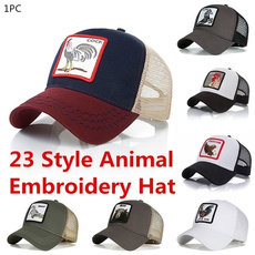 Summer, Fashion, animalhat, unisex