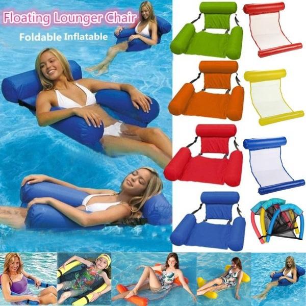 Summer, loungerchair, hammock, Furniture
