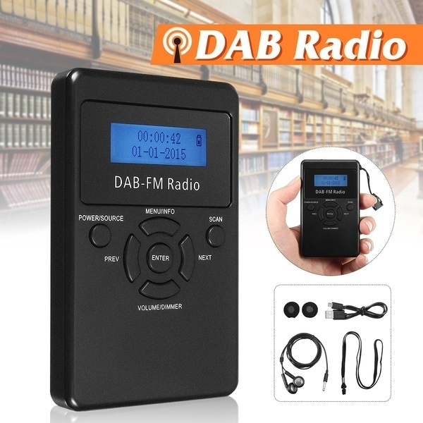 outdoorradio, Rechargeable, portable, dab