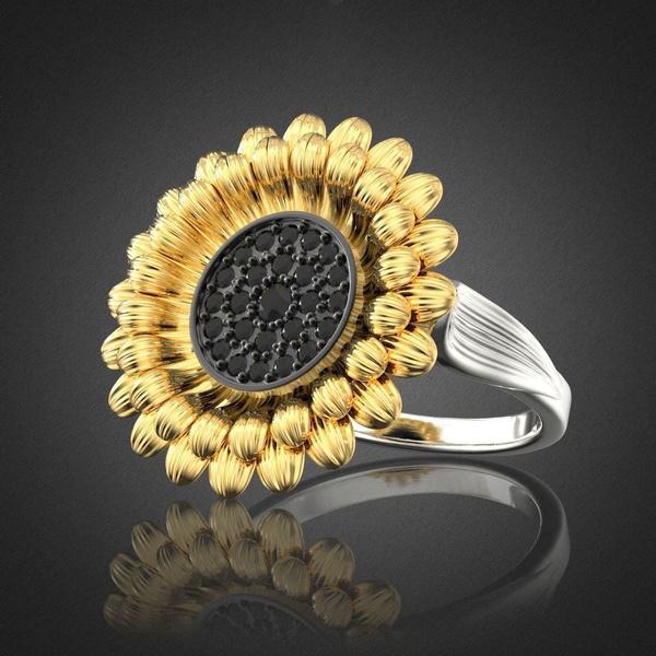 Sterling, vintage ring, treebarkring, Jewelry