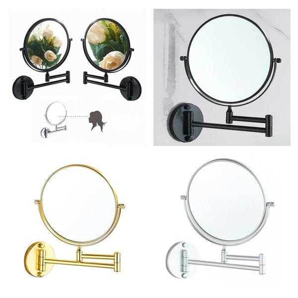 Makeup Mirrors, Wall Mount, Makeup, swivel