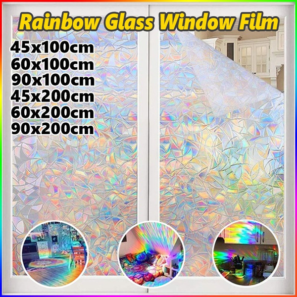 rainbowsticker, stained, windowsticker, Colorful