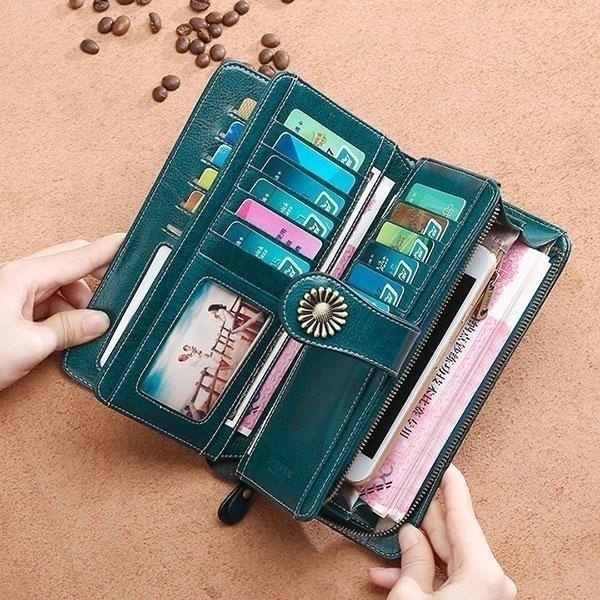 wallets for women, Capacity, leather, billeterasmujer