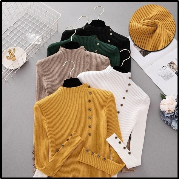 knitted, Fashion, knit, sweaters for women