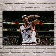 alleniverson, decoration, basketballstarposter, Basketball
