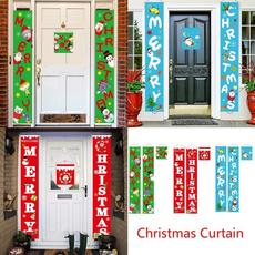 bannerdecoration, doorcouplet, Christmas, hangingflagbanner