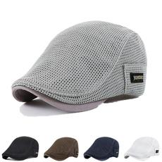 meshhat, Fashion, adjustablecap, Newsboy Caps