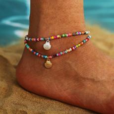 bohemia, shells, Jewelry, Colorful