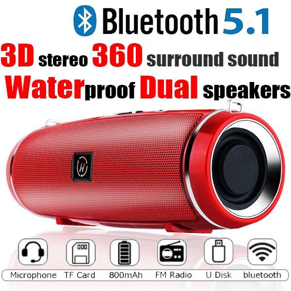 Mini, stereospeaker, Outdoor, Waterproof