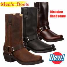 midcalfboot, Leather Boots, Cowboy, Classics