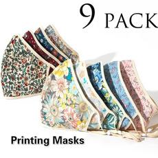washable, Fashion, unisex, Masks