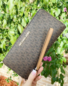 Wallet, Travel, brown