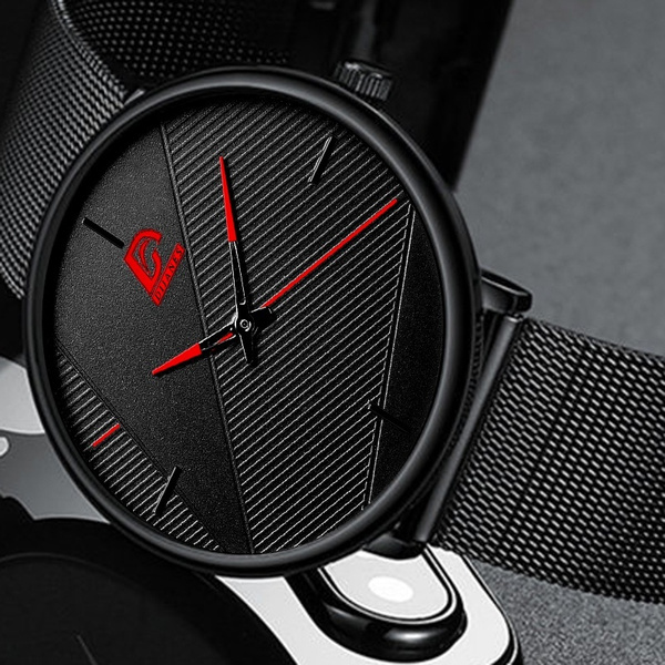 Fashion Accessory, Leather Strap Watches, Gifts, Clock
