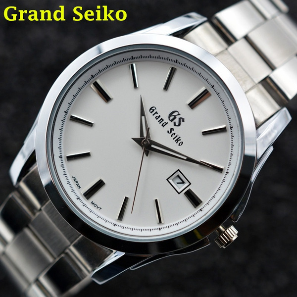 Steel, quartz, business watch, quartz watch
