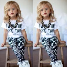 Baby Girl, Fashion, pants, short sleeves
