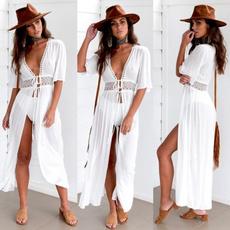 Summer, Fashion, Lace, Beach