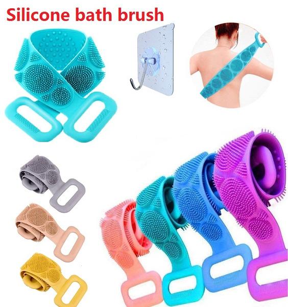 Silicone, bathbrush, cleaningbrush, skinmassagebrush