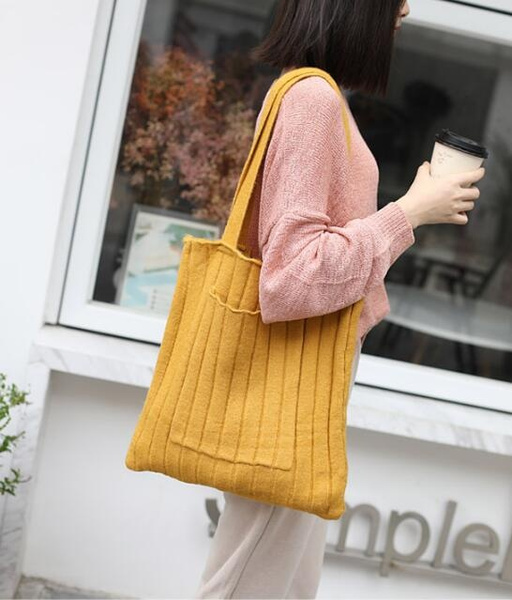 Shoulder Bags, Capacity, Knitting, Bags