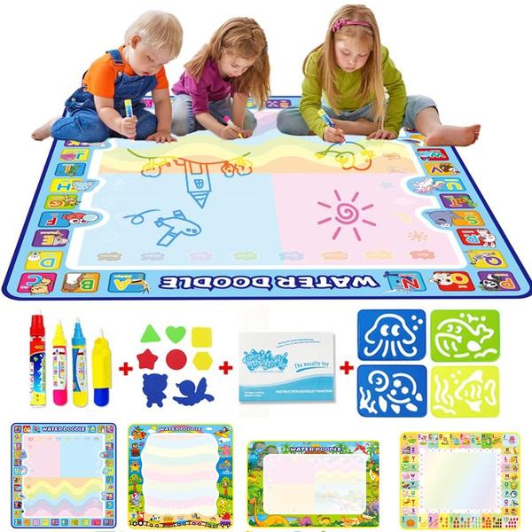 Toy, Magic, waterdrawingcushion, educationalwritingmat