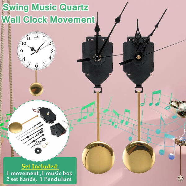 Box, quartz, musicbox, pendulumclockmovement