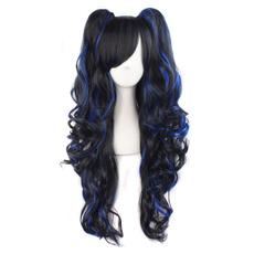 wig, ponytailscosplaywig, womenscostumewig, Lolita fashion