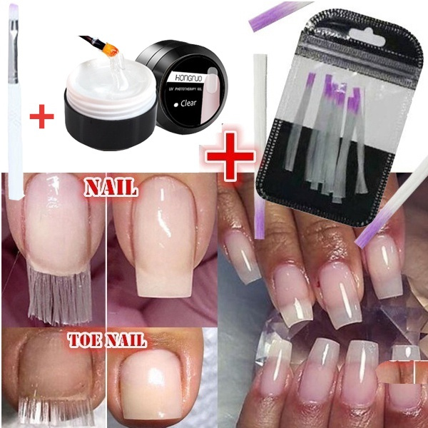 nail decoration, fibergla, nailbuilder, nailextension