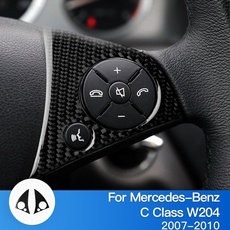 Car Sticker, Fiber, Mercedes, carbon fiber