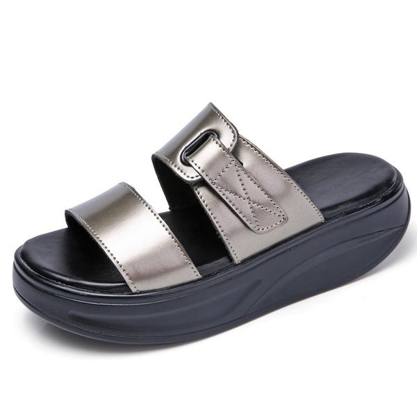 wedge, Flip Flops, Sandals, Flats