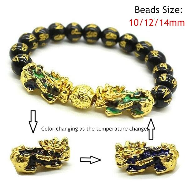 Beaded Bracelets, colorchangingbracelet, Chinese, luckybracelet