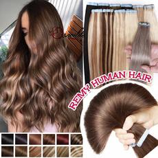 brown, Fashion, human hair, Hair Extensions