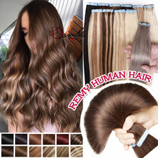 brown, Fashion, human hair, Hair Extensions