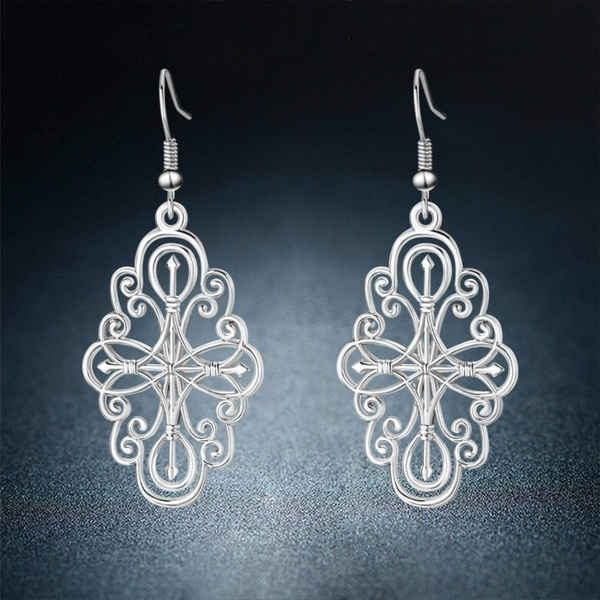 Dangle Earring, Jewelry, Gifts, Compass