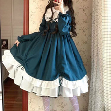 cute, GOTHIC DRESS, ruffle, Dress