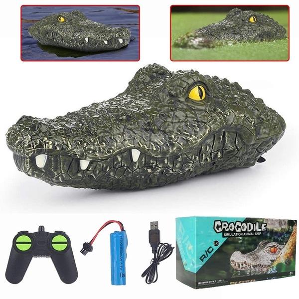 boatfloating, Control, Remote, crocodiletoy