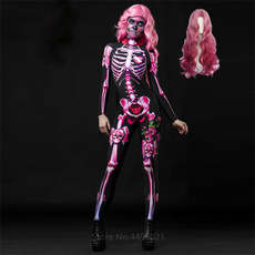wig, womencosplaycostume, horrorcostume, Skeleton