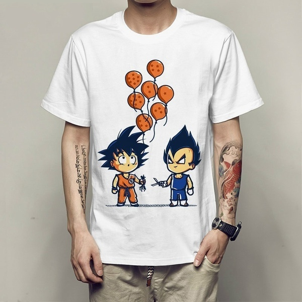 vegeta, Funny, Cotton T Shirt, loose top