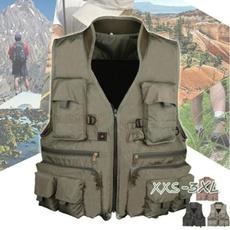 Jacket, Vest, Outdoor, Hunting
